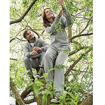 Living Crafts Damen/Herren Jogginghose aus Bio-Baumwolle